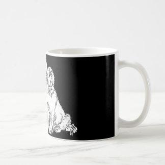 ニューファウンドランド犬のグループ コーヒーマグカップ