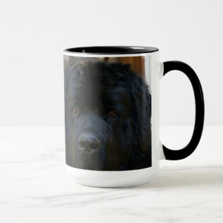 ニューファウンドランド犬のコーヒーか茶マグ マグカップ