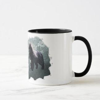 ニューファウンドランド犬のコーヒー・マグ マグカップ