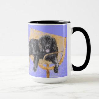 ニューファウンドランド犬のマグ マグカップ