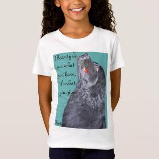 ニューファウンドランド犬の保有物は上がりました Tシャツ