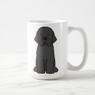 ニューファウンドランド犬の漫画 コーヒーマグカップ
