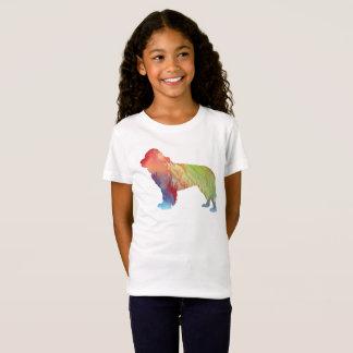 ニューファウンドランド犬の芸術 Tシャツ