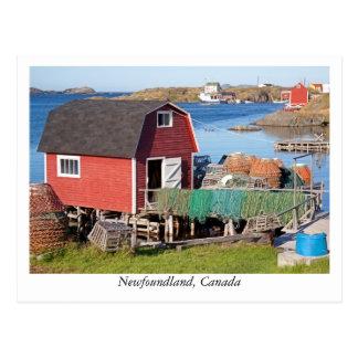 ニューファウンドランド、カナダからの郵便はがき ポストカード