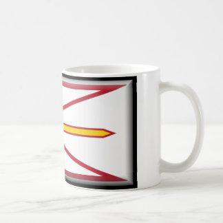 ニューファウンドランド(カナダ)の旗 コーヒーマグカップ