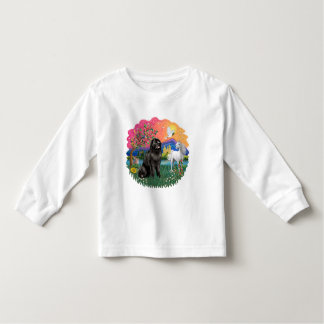 ニューファウンドランド(黒) トドラーTシャツ