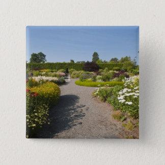 ニューブランズウィック、カナダ。 St.のKingsbraeの庭 5.1cm 正方形バッジ