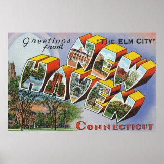ニューヘブン、CTからの挨拶 ポスター