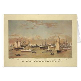 ニューポートのヨット カード