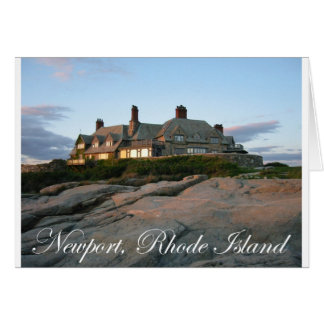 ニューポートの大邸宅 カード