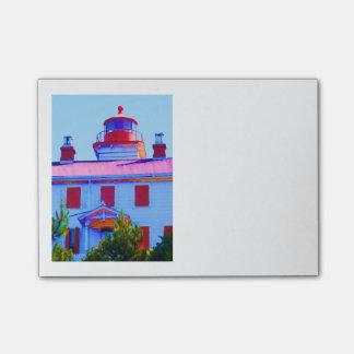 ニューポートの灯台 ポストイット