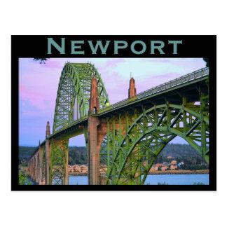 ニューポートの(または)郵便はがき ポストカード