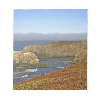 ニューポートオレゴンのYaquinaのヘッド灯台 ノートパッド