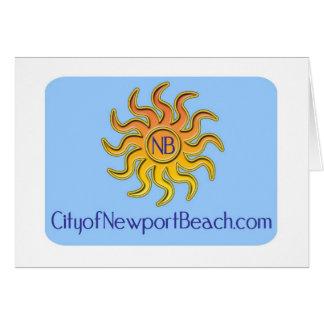 ニューポートビーチのギアの都市 カード