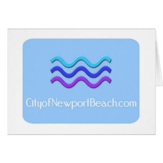 ニューポートビーチ市 カード