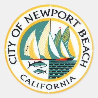 ニューポートビーチ、カリフォルニアのシール ラウンドシール