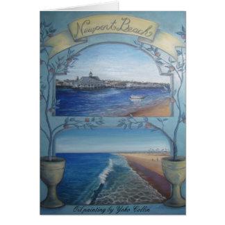ニューポートビーチ カード