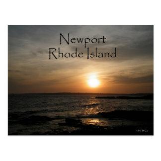 ニューポートロードアイランドの郵便はがき ポストカード