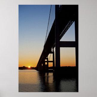 ニューポートロードアイランドを航海し、去ります ポスター
