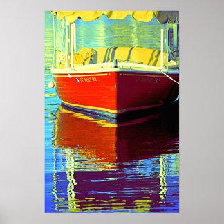 ニューポート2のBoatin -ポスター ポスター