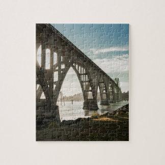 ニューポート、オレゴンのYaquina湾橋 ジグソーパズル
