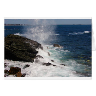 ニューポート、RIの崖の歩行 カード