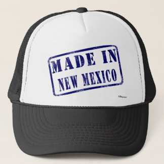 ニューメキシコで作られる キャップ