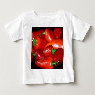 ニューメキシコのチリペッパー(チリ) ベビーTシャツ