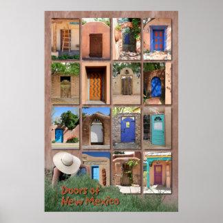 ニューメキシコのバージョン2のドア ポスター