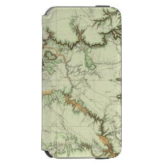 ニューメキシコの土地分類の地図 INCIPIO WATSON™ iPhone 5 財布型ケース