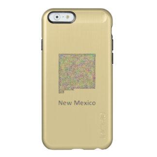 ニューメキシコの地図 INCIPIO FEATHER SHINE iPhone 6ケース