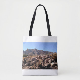 ニューメキシコの山 トートバッグ