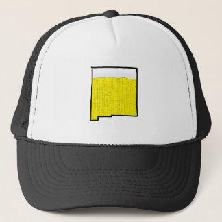 ニューメキシコの州のトラック運転手の帽子-ビール キャップ
