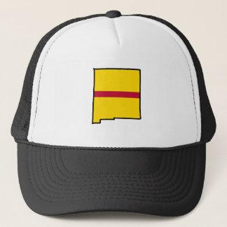 ニューメキシコの州の憎悪-縞で飾ります キャップ
