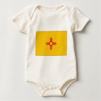ニューメキシコの州の旗 ベビーボディスーツ