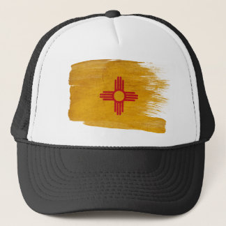 ニューメキシコの旗のトラック運転手の帽子 キャップ