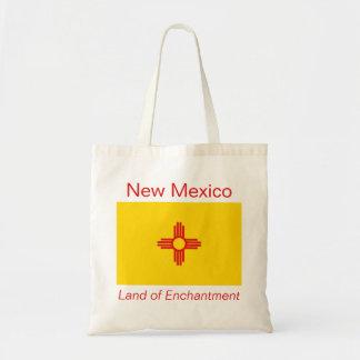 ニューメキシコの旗のバッグ トートバッグ