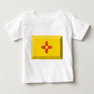 ニューメキシコの旗の宝石 ベビーTシャツ