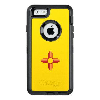 ニューメキシコの旗 オッターボックスディフェンダーiPhoneケース