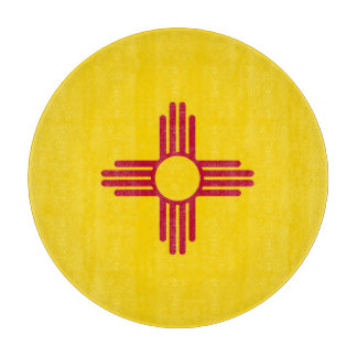 ニューメキシコの旗 カッティングボード