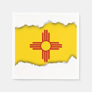 ニューメキシコの旗 スタンダードカクテルナプキン