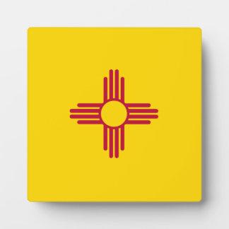ニューメキシコの旗 フォトプラーク