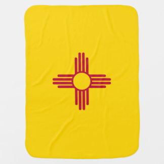 ニューメキシコの旗 ベビー ブランケット