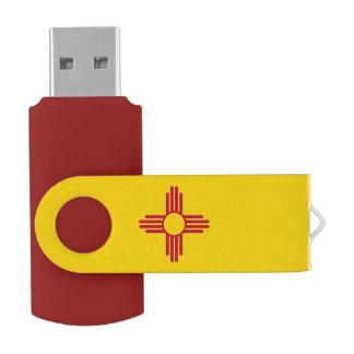 ニューメキシコの旗 USBフラッシュドライブ