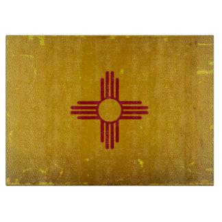 ニューメキシコの旗VINTAGE.png カッティングボード