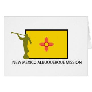 ニューメキシコアルバカーキの代表団LDS CTR カード