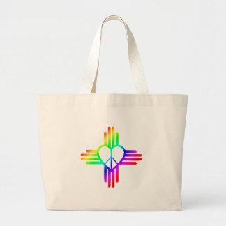 ニューメキシコジア愛 ラージトートバッグ
