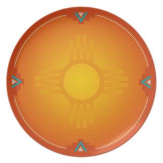 ニューメキシコジア(太陽) パーティープレート