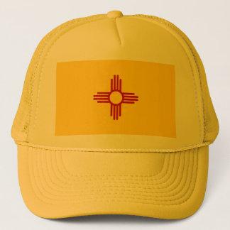 ニューメキシコ州米国の旗が付いている帽子 キャップ