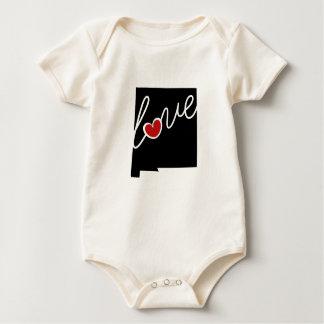 ニューメキシコ愛!  ワイシャツ及びNMの恋人のための多く ベビーボディスーツ